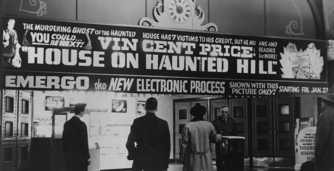 William Castle HOUSE ON HAUNTED HILL
