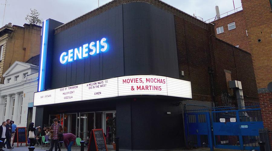 #LDNindieFILM Love Story: Genesis Cinema (image c/o Genesis Cinema).