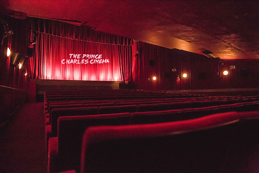 #LDNindieFILM Love Story: The Prince Charles Cinema // F-K-RED-LIGHTS by Imane Lamime (image c/o Prince Charles Cinema).